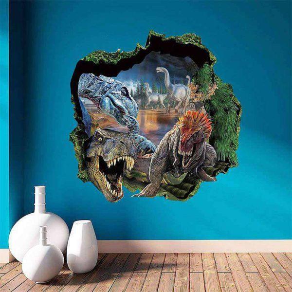 3d fish wall art mural for kids / Shop Social Online Store