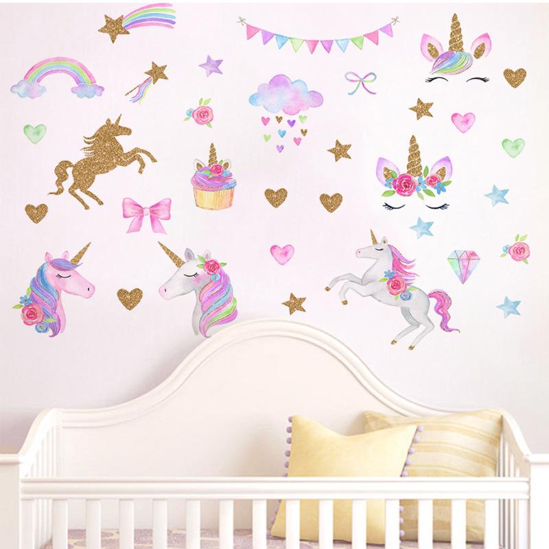 Unicorn 3D Wall Stickers