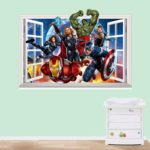 Avengers 3D Wall Decals