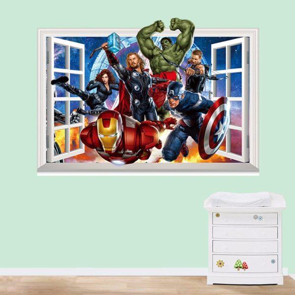 Avengers 3D Wall Decals