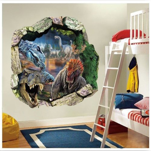 Jurassic Dinosaur 3D Wall Sticker