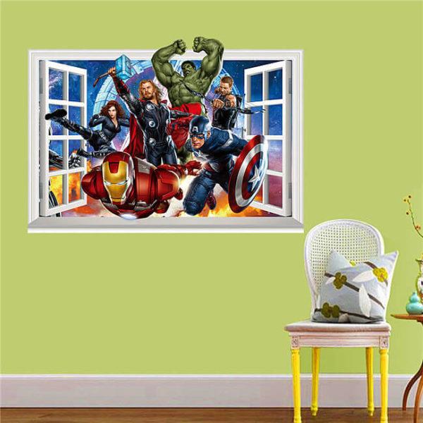 the avengers wall art decals / Shop Social Online Store