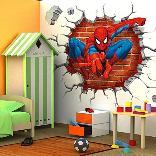 Spiderman 3D Wall Stickers
