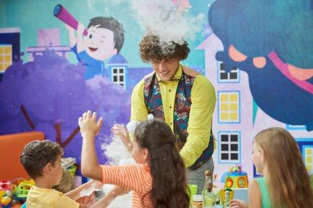 depositphotos 344781830 stock photo joyful kids in entertainment center / Shop Social Online Store