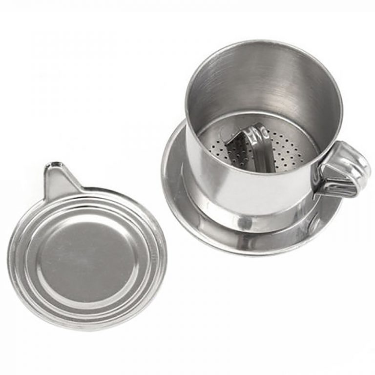 1set Portable Stainless Steel Coffee Drip Filter Coffee Maker Infuser Vietnam Style Coffee Mug Cup Strainer 3 / Shop Social Online Store