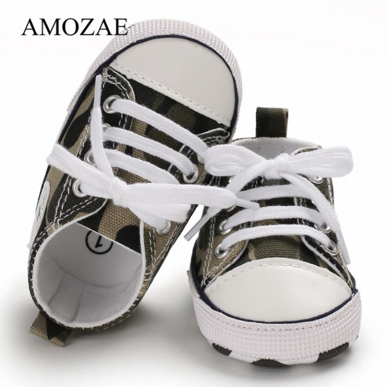 New Canvas Baby Sports Sneakers Shoes Newborn Baby Boys Girls First Walkers Shoes Infant Toddler Soft 1 / Shop Social Online Store