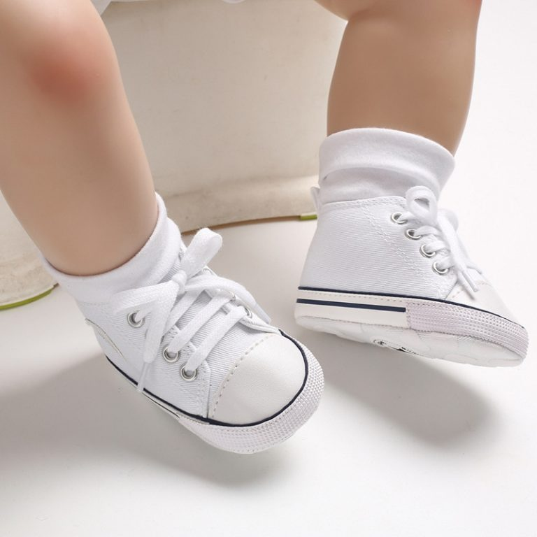 New Canvas Baby Sports Sneakers Shoes Newborn Baby Boys Girls First Walkers Shoes Infant Toddler Soft 2 / Shop Social Online Store