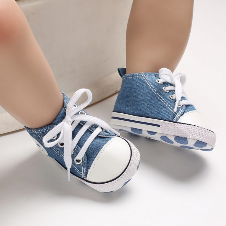 New Canvas Baby Sports Sneakers Shoes Newborn Baby Boys Girls First Walkers Shoes Infant Toddler Soft 3 / Shop Social Online Store