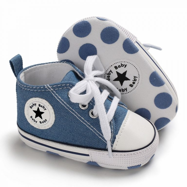 New Canvas Baby Sports Sneakers Shoes Newborn Baby Boys Girls First Walkers Shoes Infant Toddler Soft 5 / Shop Social Online Store
