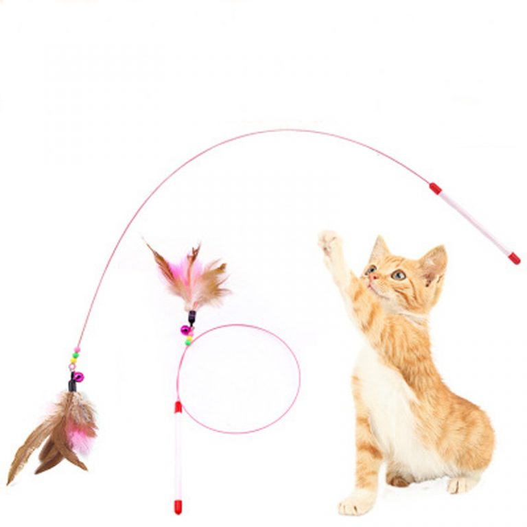 Pet Cat Toy Plush Funny Play Cat Toys Ring Bell Happy Cat s Accessories High Quality 2 / Shop Social Online Store