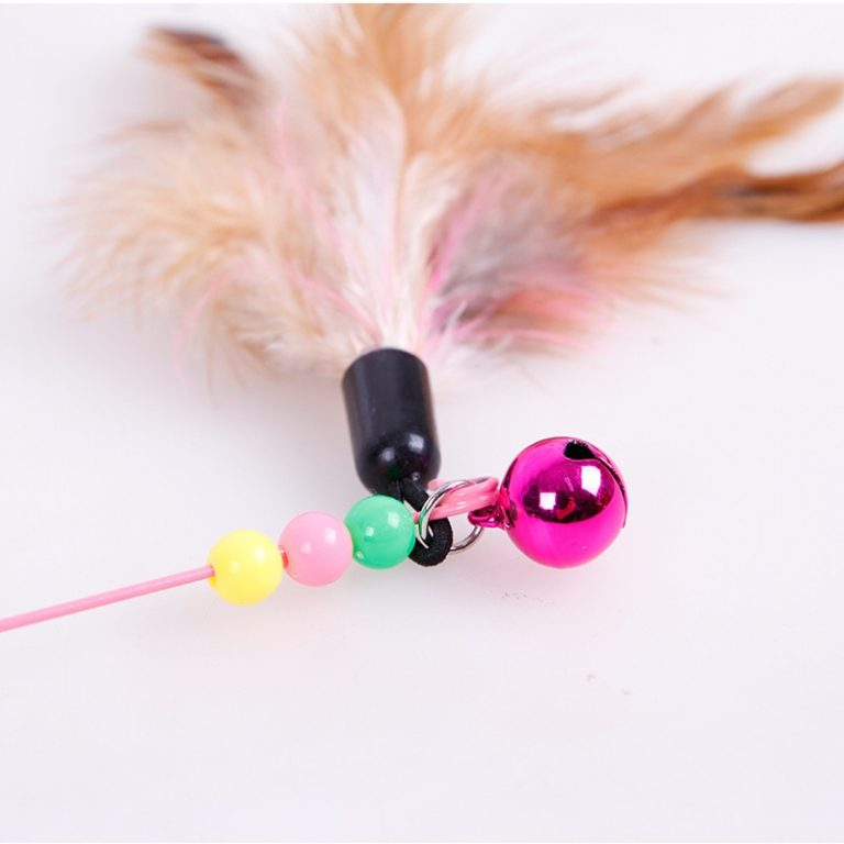 Pet Cat Toy Plush Funny Play Cat Toys Ring Bell Happy Cat s Accessories High Quality 5 / Shop Social Online Store
