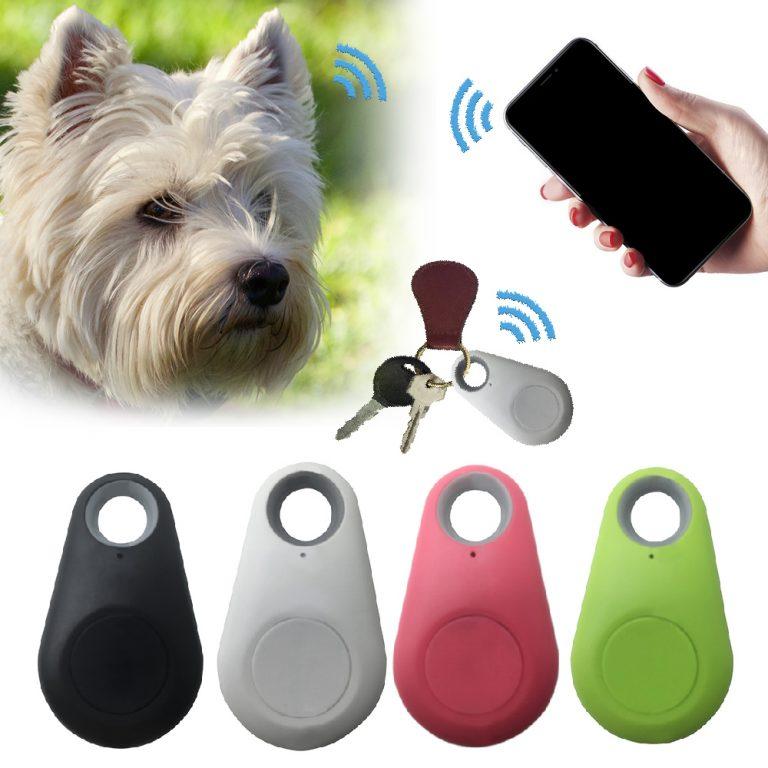 Pets Smart Mini GPS Tracker Anti Lost Waterproof Bluetooth Tracer For Pet Dog Cat Keys Wallet / Shop Social Online Store