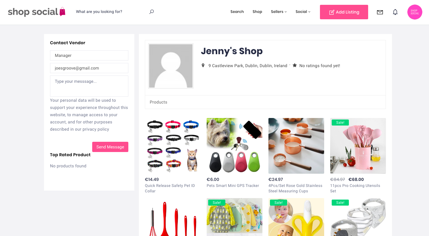 Screenshot 2020 05 23 at 18.54.36 / Shop Social Online Store