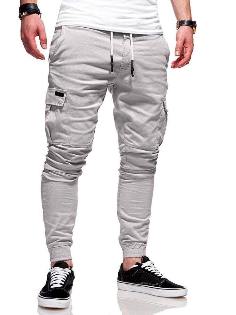 2020 Men Pants Joggers Casual Male Cargo Military Sweatpants Solid Multi pocket Hip Hop Fitness Trousers 4 / Shop Social Online Store
