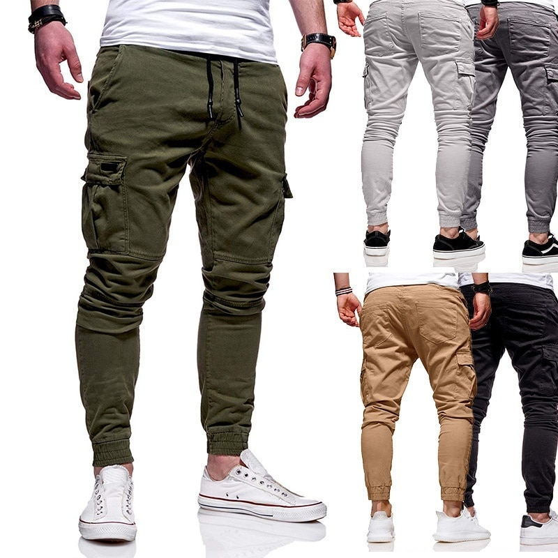 Mens Cargo Sportswear Trousers