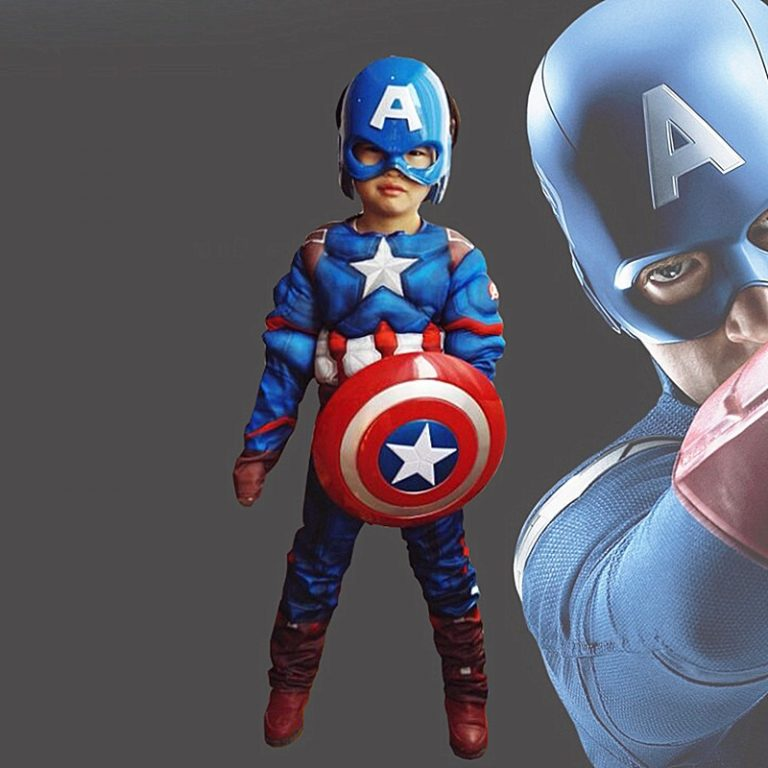 28 Colors Child Super Hero Cosplay Costume for Boys Carnival Halloween Costume 4 12Y 1 / Shop Social Online Store