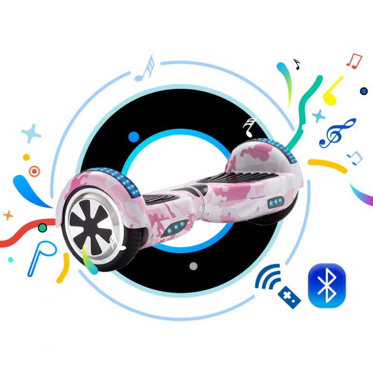 6 5 Inch Self Balancing Scooters Cheap LED Electric Scooters Two Wheels Balance Skateboard Hoverboard For 1 / Shop Social Online Store