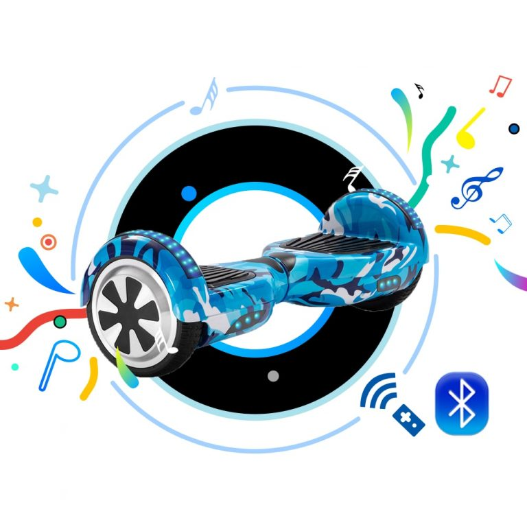 6 5 Inch Self Balancing Scooters Cheap LED Electric Scooters Two Wheels Balance Skateboard Hoverboard For 2 / Shop Social Online Store