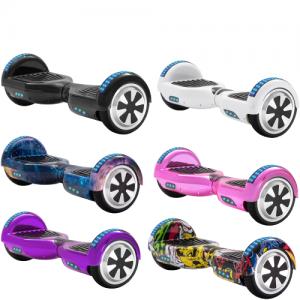 Self-Balancing LED Scooter