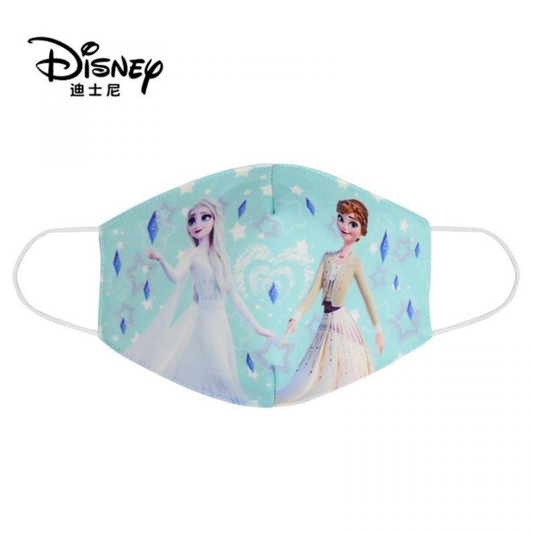 Disney Frozen Children s Face Maks Washable Frozen 2 Elsa Anna Olaf Cotton Anti Dust Protective 2 / Shop Social Online Store