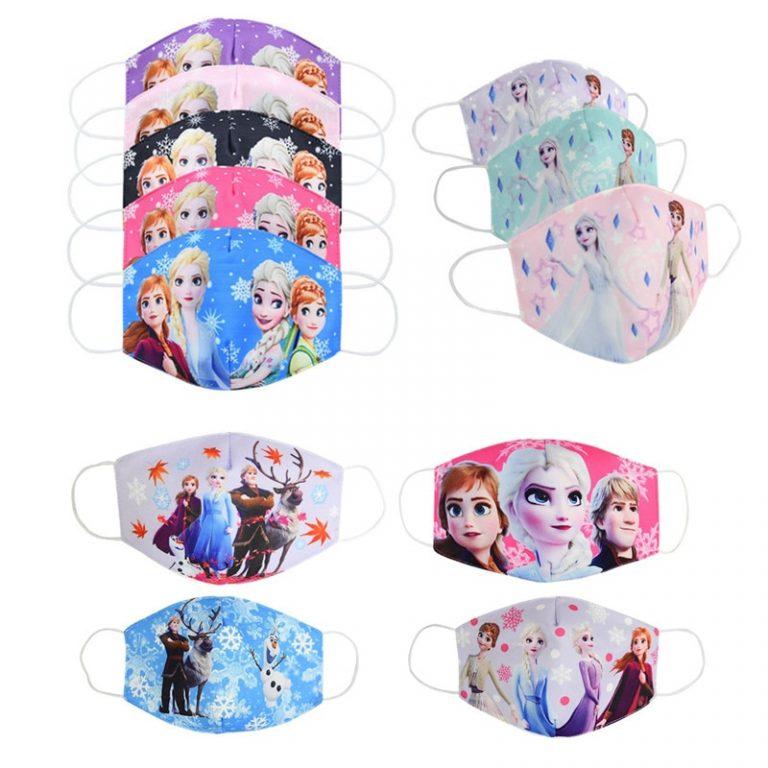 Frozen Face Masks