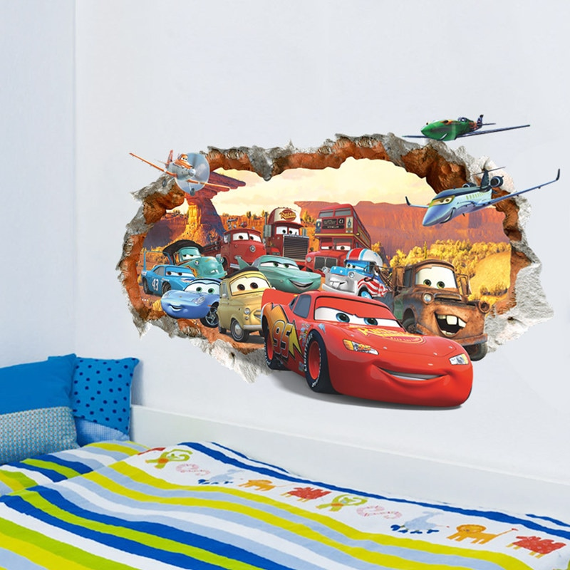 Disney Cars 3D Wall Sticker