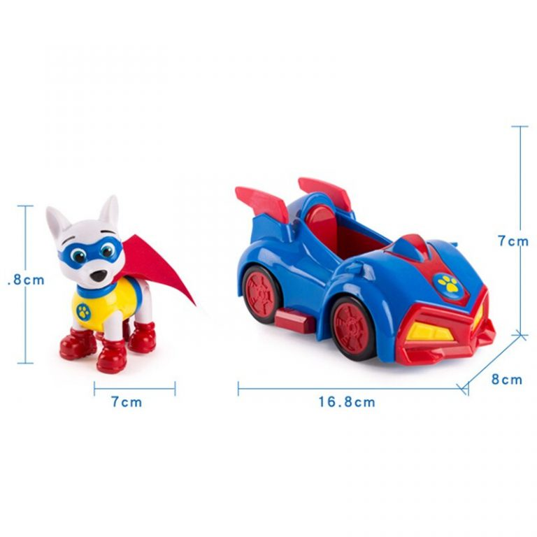 Genuine Paw Patrol Toy Set Toy Car Dog Everest Apollo Tracker Ryder Skye Scroll Action Figure 5 / Shop Social Online Store