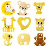 Baby Silicone Animal Teeter