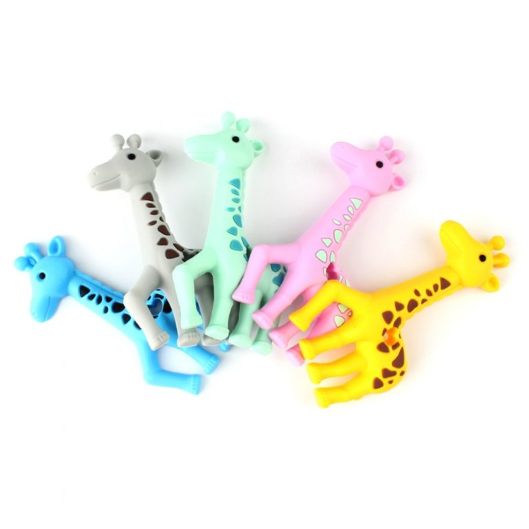 Keep Grow 1pcs Baby Animal Silicone Teethers Dog Dinosaur Koala Baby Teething Product Accessories For Pacifier 2 / Shop Social Online Store