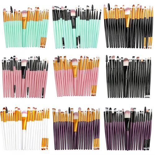 La Milee 20/5Pcs Makeup Brushes Set