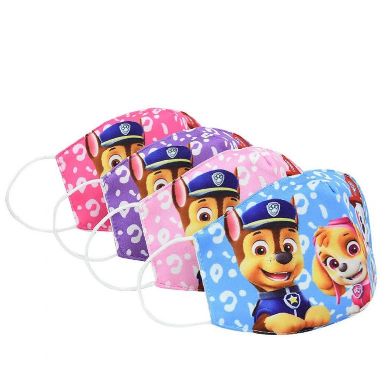 Paw Patrol Chase Skye Marshall Everest Children s Face Maks Paw Patrol Cotton Anti Dust Washable 1 / Shop Social Online Store