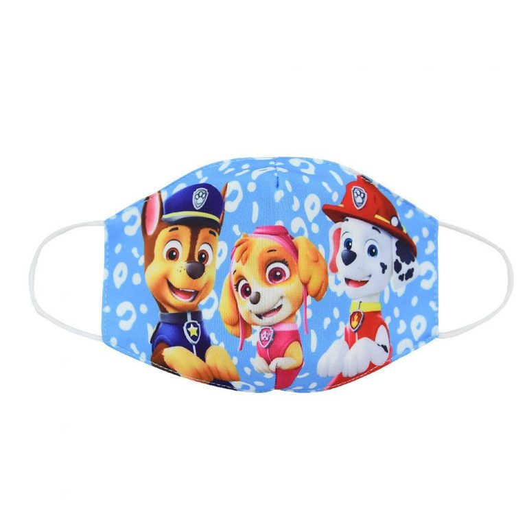 Paw Patrol Chase Skye Marshall Everest Children s Face Maks Paw Patrol Cotton Anti Dust Washable 3 / Shop Social Online Store