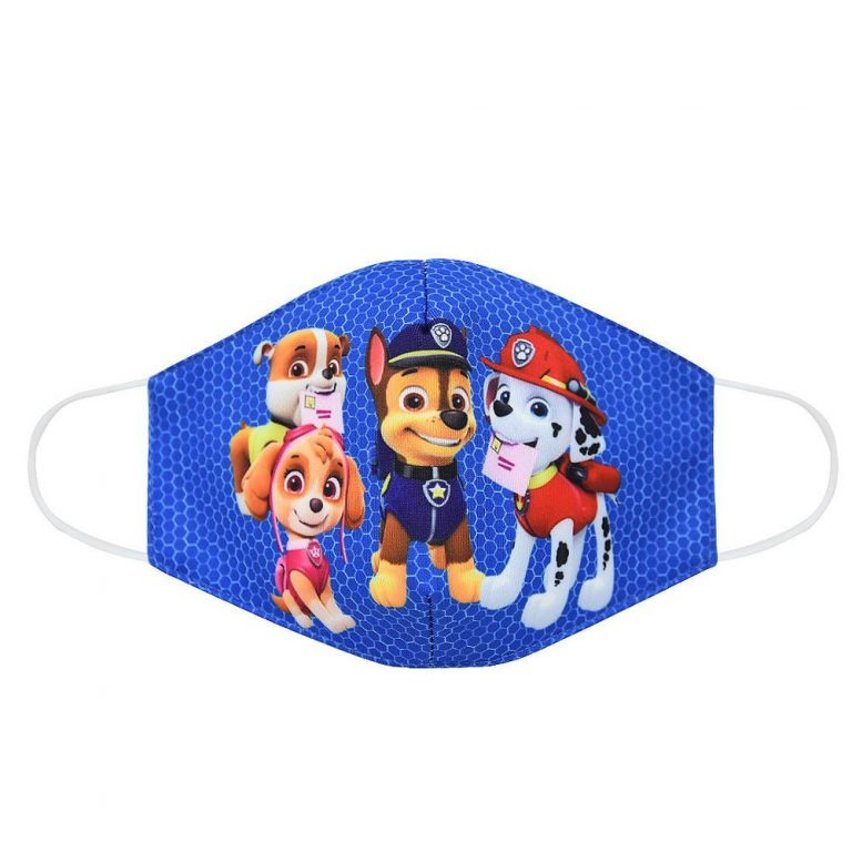 Paw Patrol Chase Skye Marshall Everest Children s Face Maks Paw Patrol Cotton Anti Dust Washable 4 / Shop Social Online Store