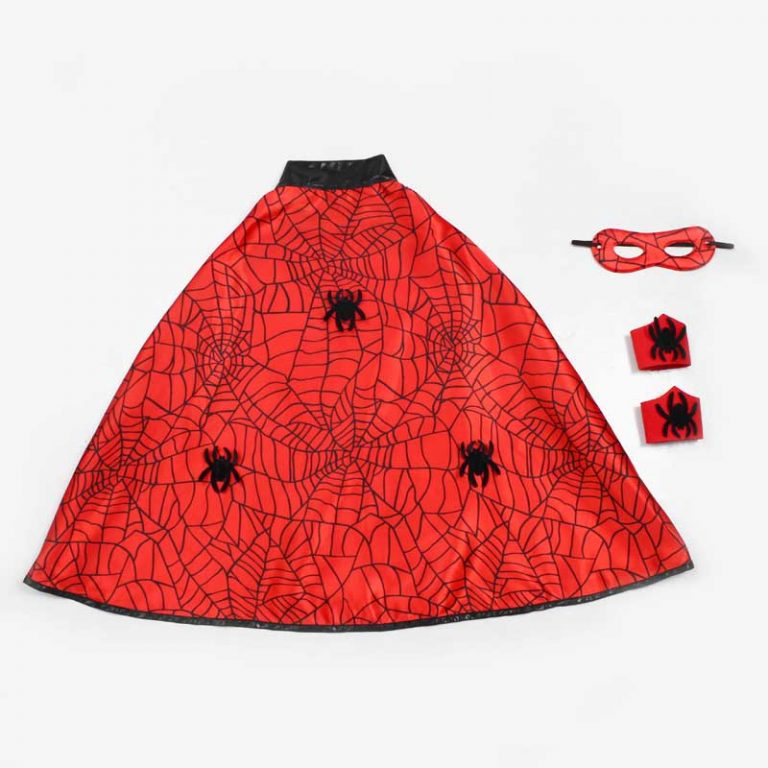 Superhero Capes Kids Birthday Party Halloween Costume Spider Costume 1 / Shop Social Online Store