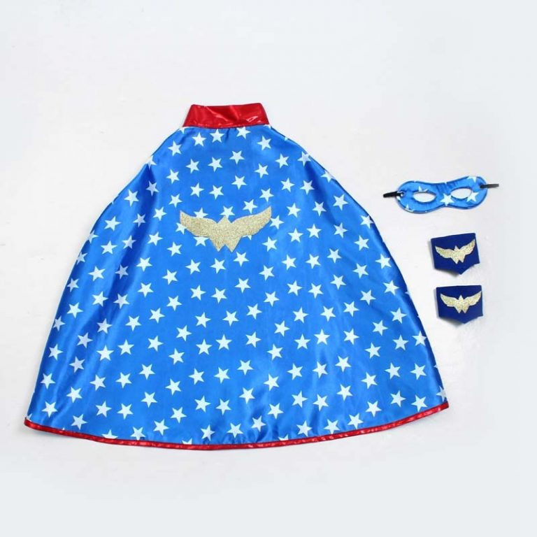 Superhero Capes Kids Birthday Party Halloween Costume Spider Costume 2 / Shop Social Online Store