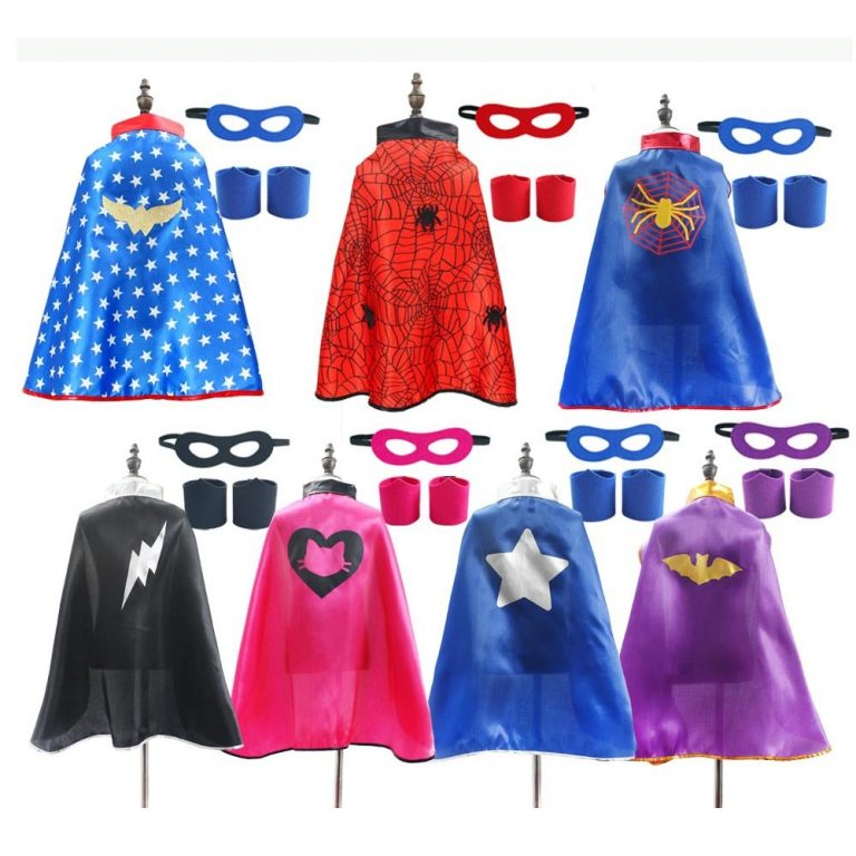 Superhero Capes Kids Birthday Party Halloween Costume Spider Costume / Shop Social Online Store