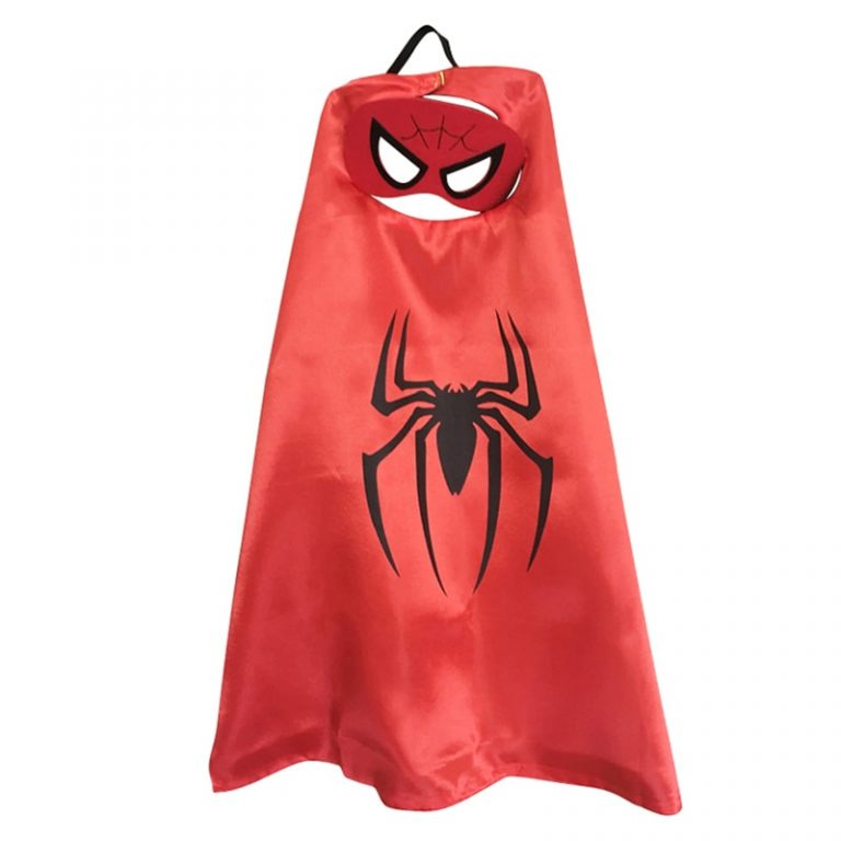 Superhero Capes with Mask Boys Girls Birthday Party Favor Dress Up Halloween Costumes Anime Cosplay 1 / Shop Social Online Store
