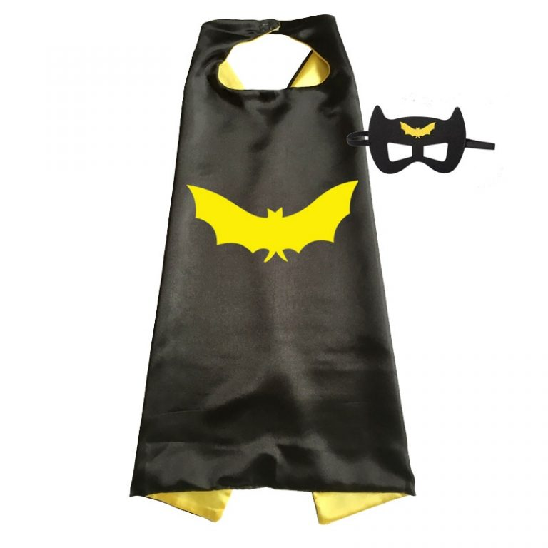 Superhero Capes with Mask Boys Girls Birthday Party Favor Dress Up Halloween Costumes Anime Cosplay 2 / Shop Social Online Store