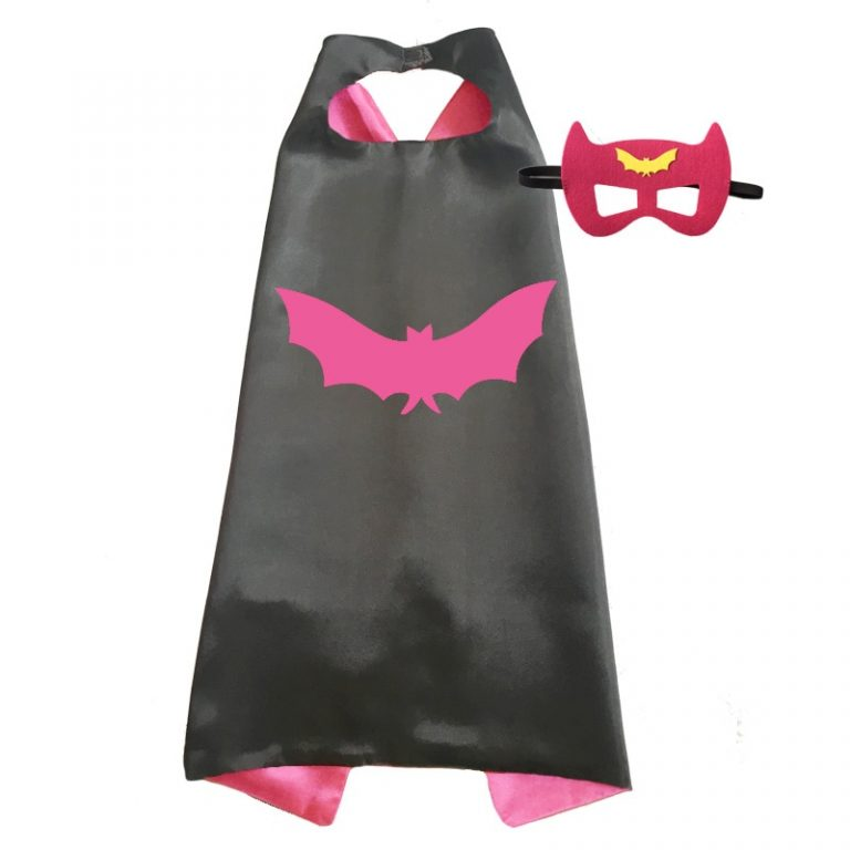 Superhero Capes with Mask Boys Girls Birthday Party Favor Dress Up Halloween Costumes Anime Cosplay 3 / Shop Social Online Store
