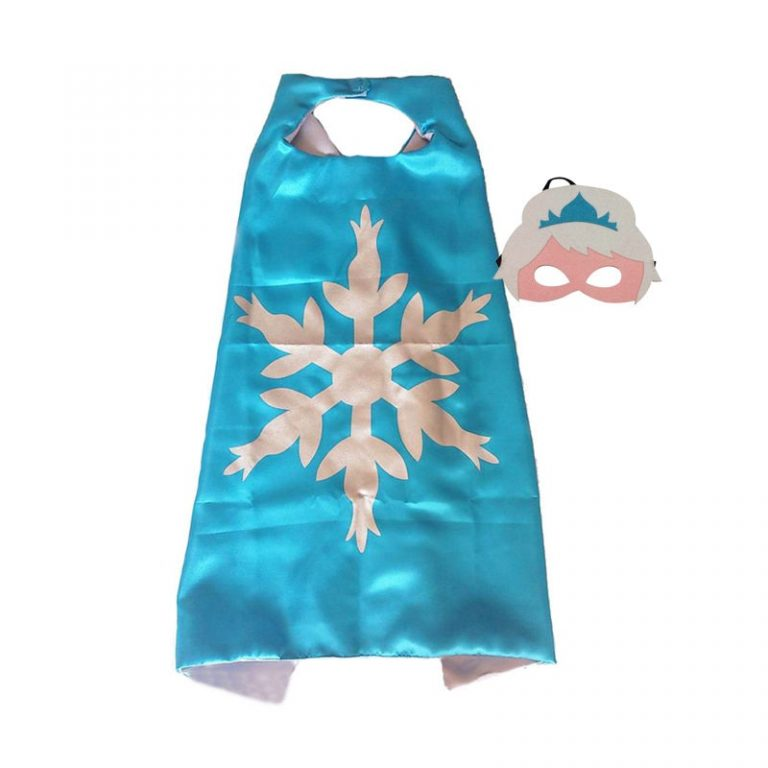 Superhero Capes with Mask Boys Girls Birthday Party Favor Dress Up Halloween Costumes Anime Cosplay 5 / Shop Social Online Store