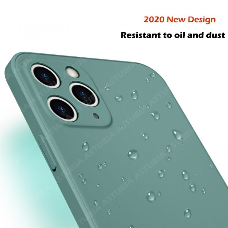 2020 New Luxury Liquid Silicone Case For iPhone 11 Pro Max 12 protector Case For iPhone 1 / Shop Social Online Store