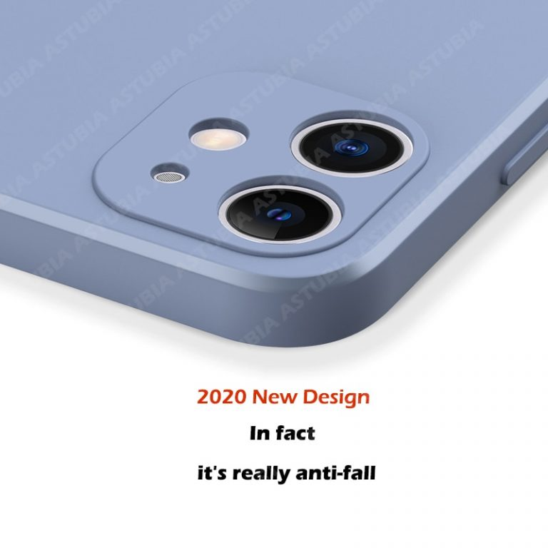2020 New Luxury Liquid Silicone Case For iPhone 11 Pro Max 12 protector Case For iPhone 2 / Shop Social Online Store