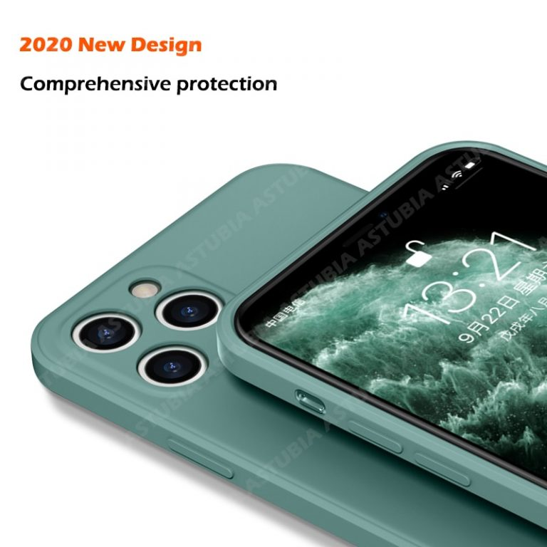 2020 New Luxury Liquid Silicone Case For iPhone 11 Pro Max 12 protector Case For iPhone 3 / Shop Social Online Store