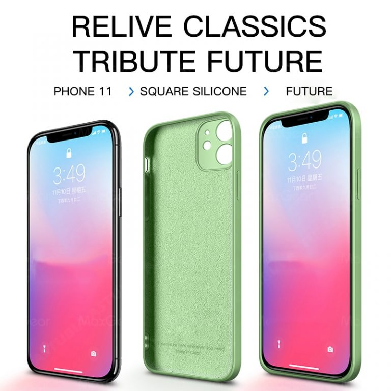 2020 New Luxury Liquid Silicone Case For iPhone 11 Pro Max 12 protector Case For iPhone 4 / Shop Social Online Store