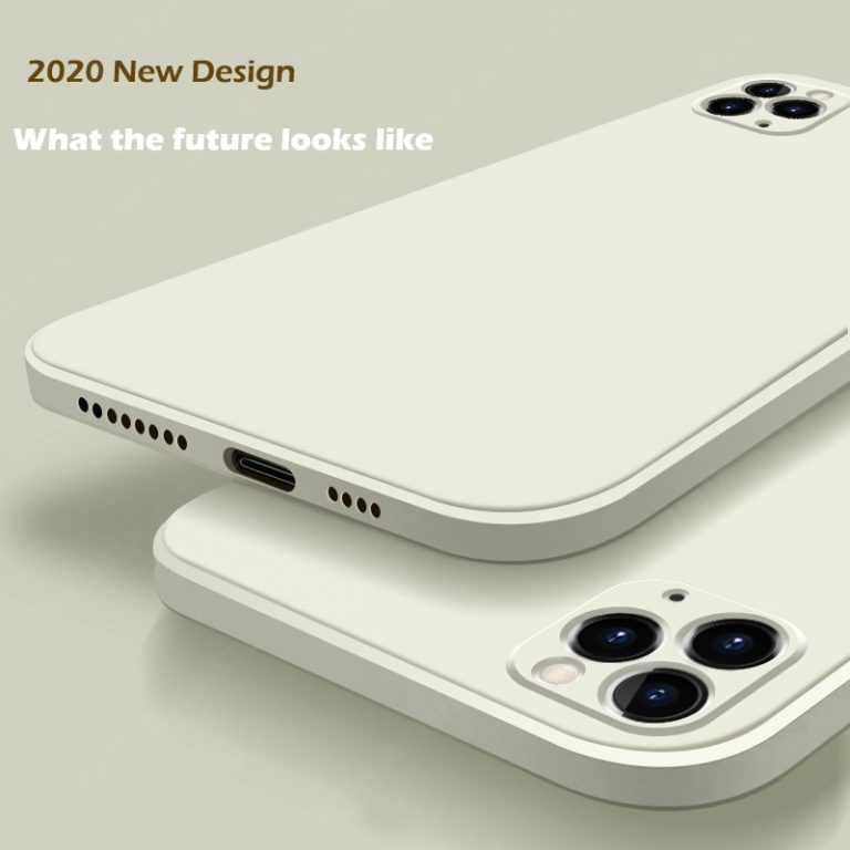 2020 New Luxury Liquid Silicone Case For iPhone 11 Pro Max 12 protector Case For iPhone / Shop Social Online Store