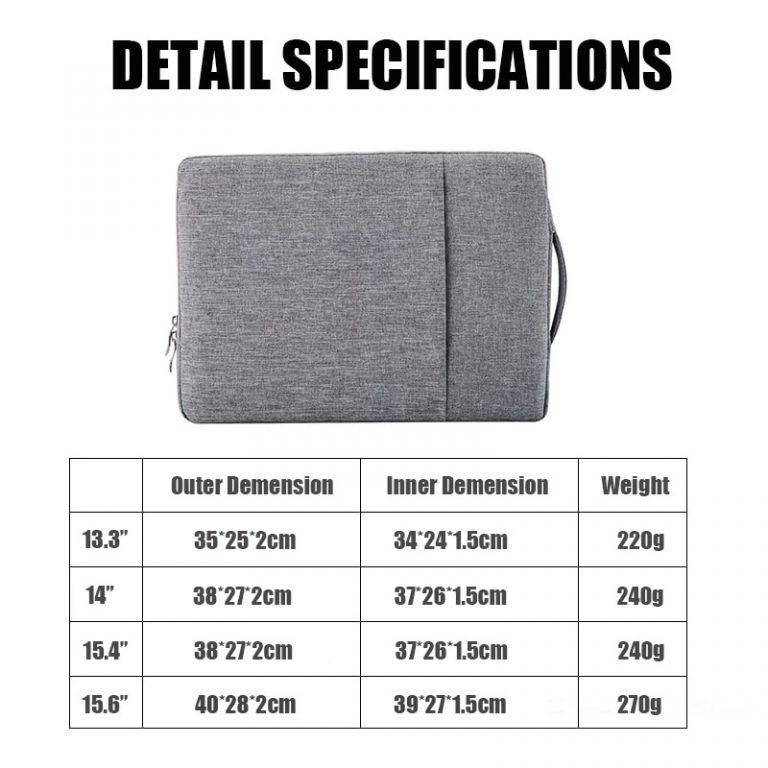 2020 Waterproof Laptop Bag Cover 13 3 14 15 15 6 inch Notebook Case Handbag For 1 / Shop Social Online Store