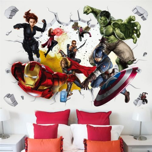 Avengers 3D Wall Stickers