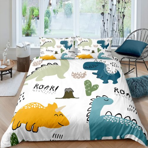 Printed Dinosaur Kids Bedding Set & Duvet Covers