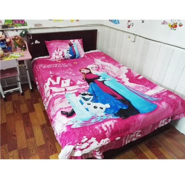 Cartoon Blue Frozen 2 Princess Elsa Anna Bedding Set Children s Kids Duvet Cover Set Bedroom 2.jpg 640x640 2 / Shop Social Online Store