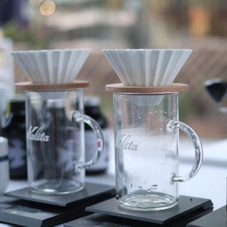 Ceramic Coffee Filter Cup Pour Over Coffee Maker with Stand V60 Funnel Dripper Cake Filter Cup 1 / Shop Social Online Store